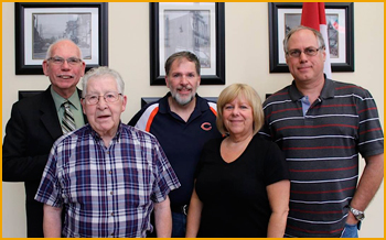 Past Presidents of Thorold Community Credit Union